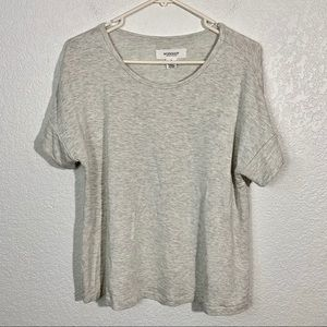 Workshop Republic Clothing Gray Shirt Small